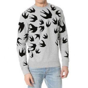 Alexander McQueen Swallow sweatshirt